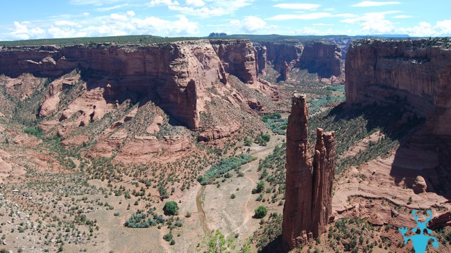 Spider Rock Canyon Chelly