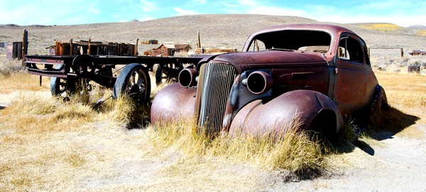 Bodie State Park auto