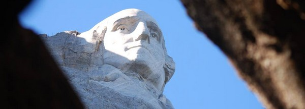Mont Rushmore George Washington