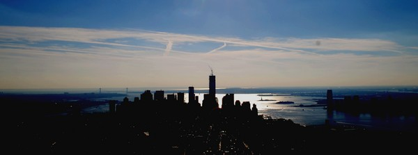 skyline empire state building