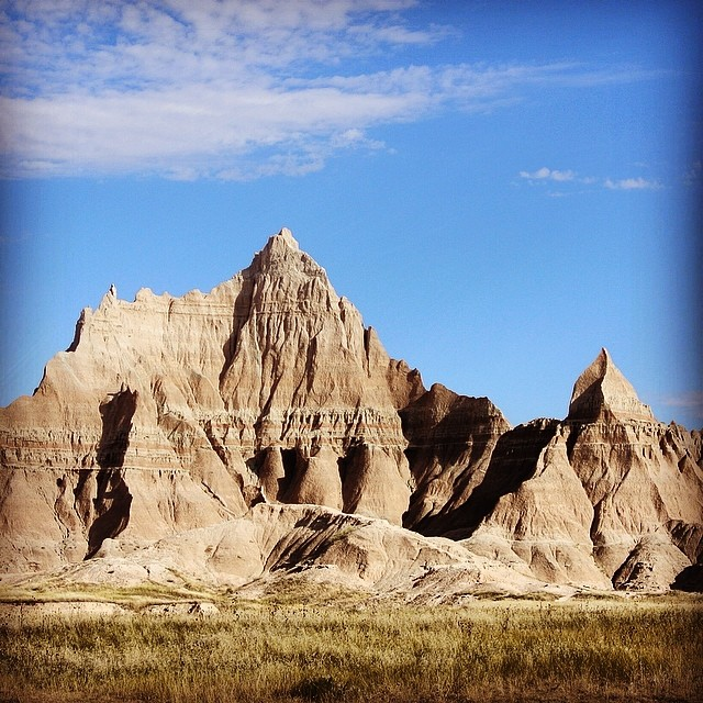 Badlands National Park - Dakota du Sud #voyage #roadtrip #paysage #landscape #nationalpark
