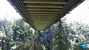 passerelle canyon
