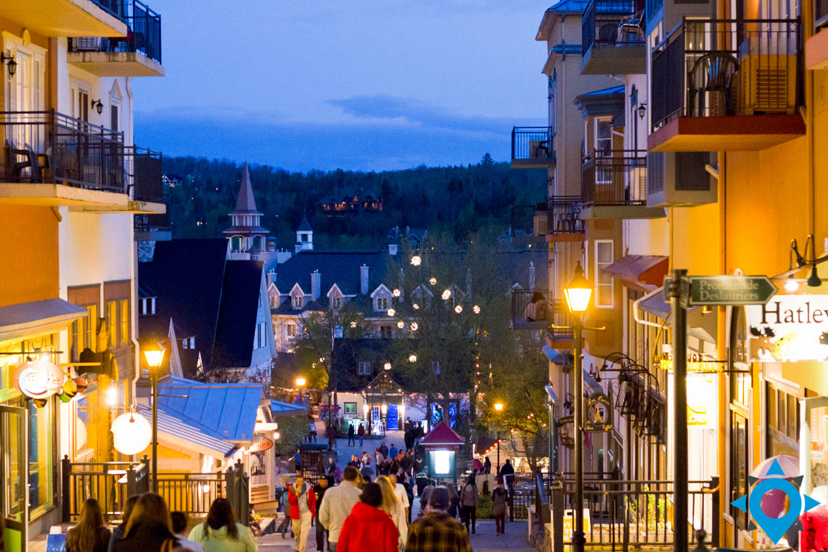 weekend à mont tremblant