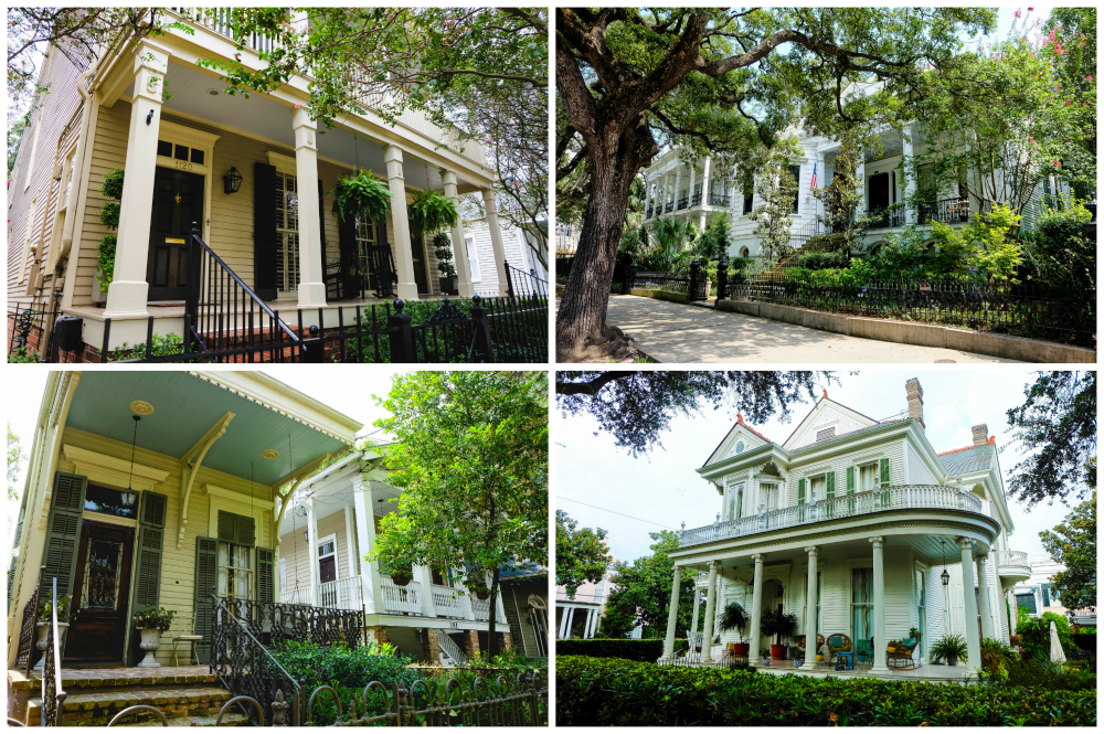 garden district maison