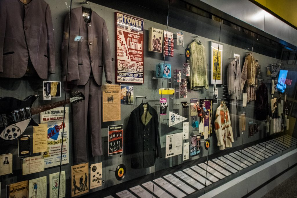 beatles rock'n'roll hall of fame