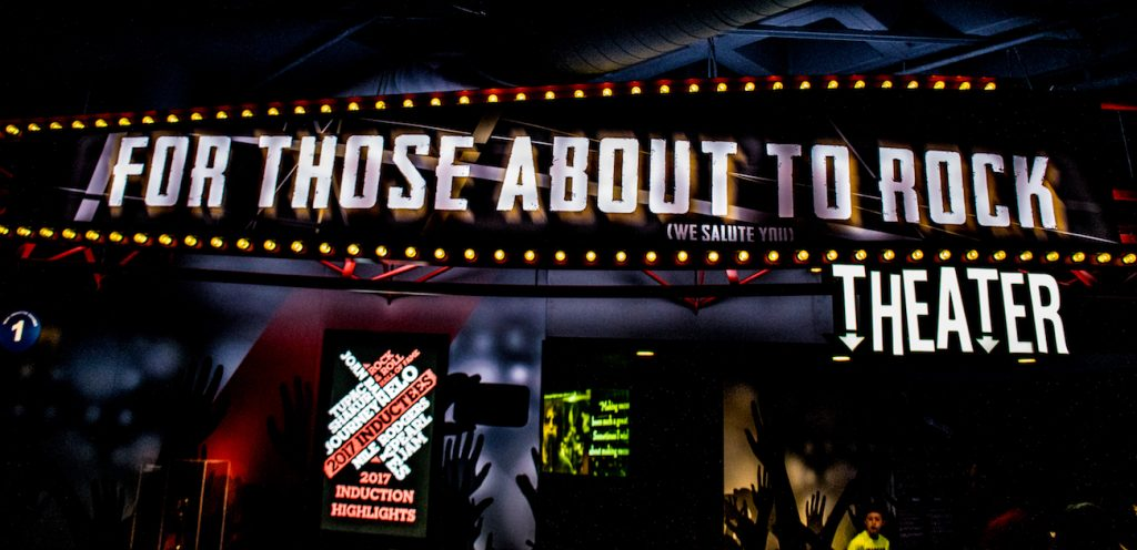 theatre rock hall of fame