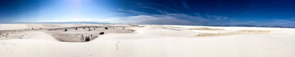 panorama white sands