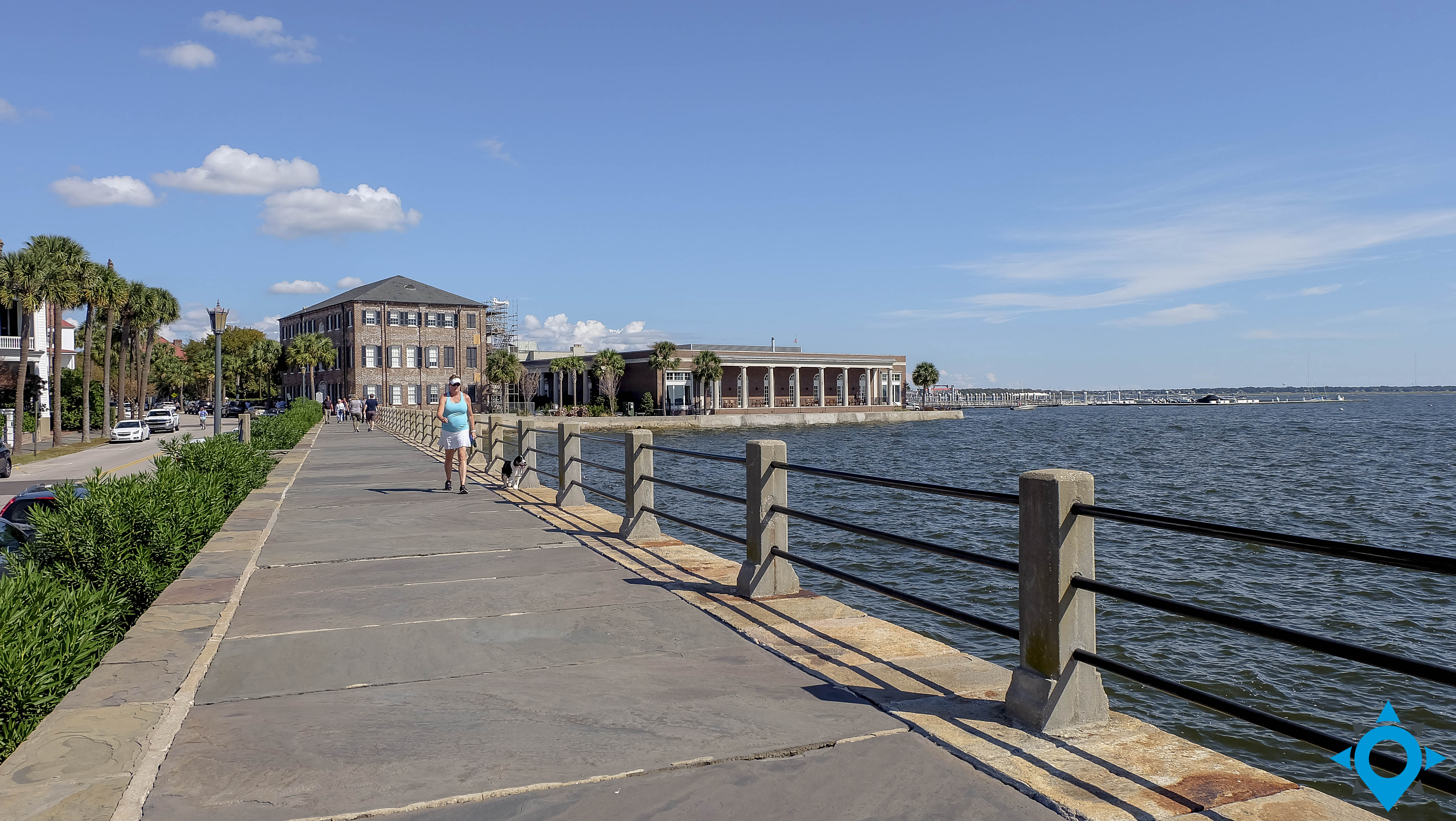 East Battery Charleston harbor