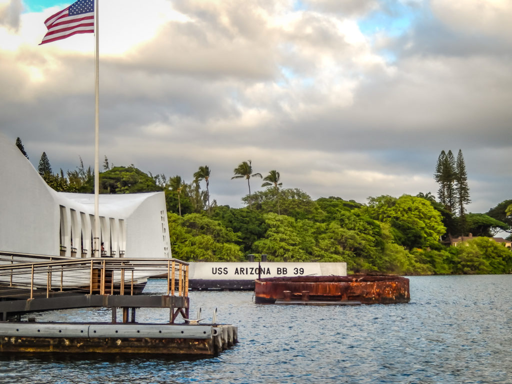Pearl Harbor memorial uss arizona