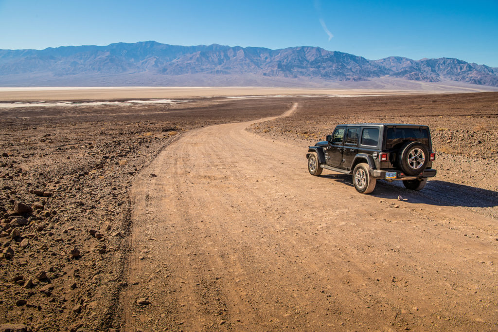 Death Valley jeep