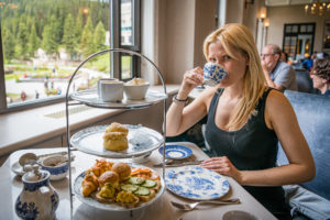 afternoon tea fairmont lake louise
