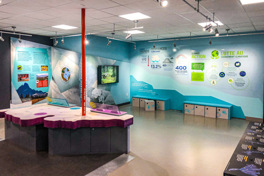 Columbia Icefield discovery center