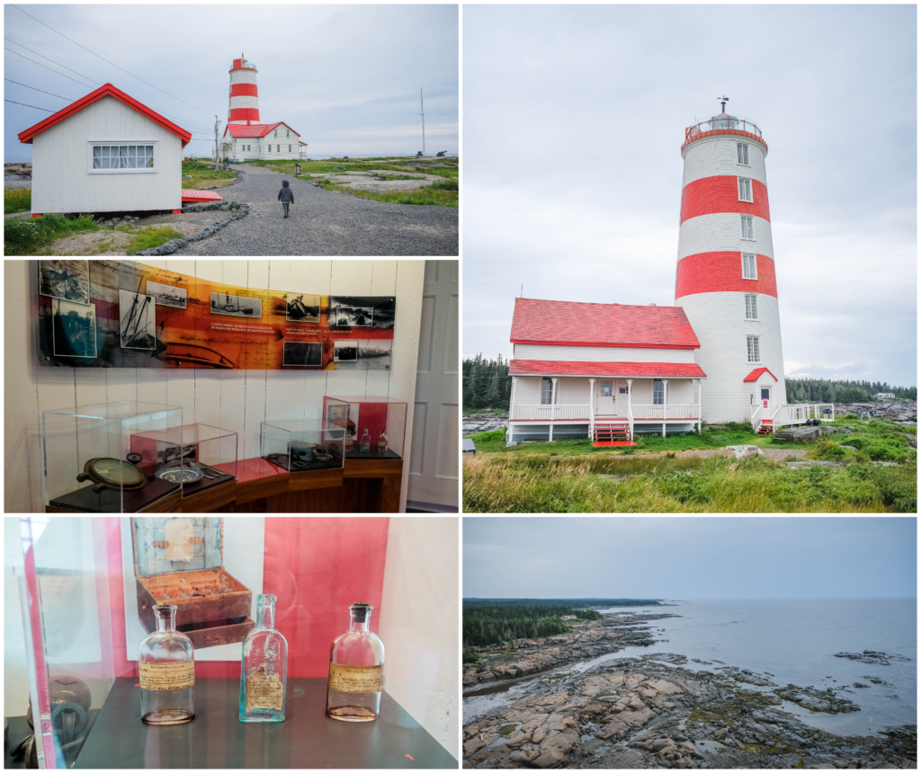phare pointe des monts cote nord